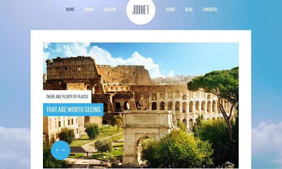 Freebies Got More Features! See New Free jQuery Travel Theme