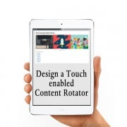Design a Touch-Enabled Content Rotator with Owl Carousel