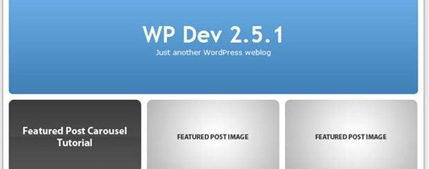 wordpress tutorials for designers