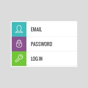 Free PSD Login Forms