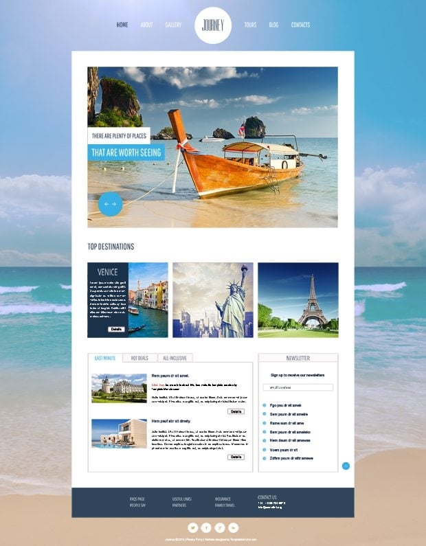 get 6 free html5 themes in summer 2013 goodies pack monsterpost