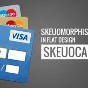 How Skeuomorphism Got into Flat Design. Skeuocard
