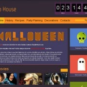 Our Favorite Creepy Creation from This Week: Halloween Free HTML5 Theme