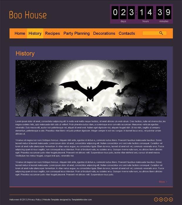 Free Theme HTML5