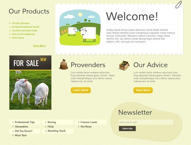 Infantilism in web design