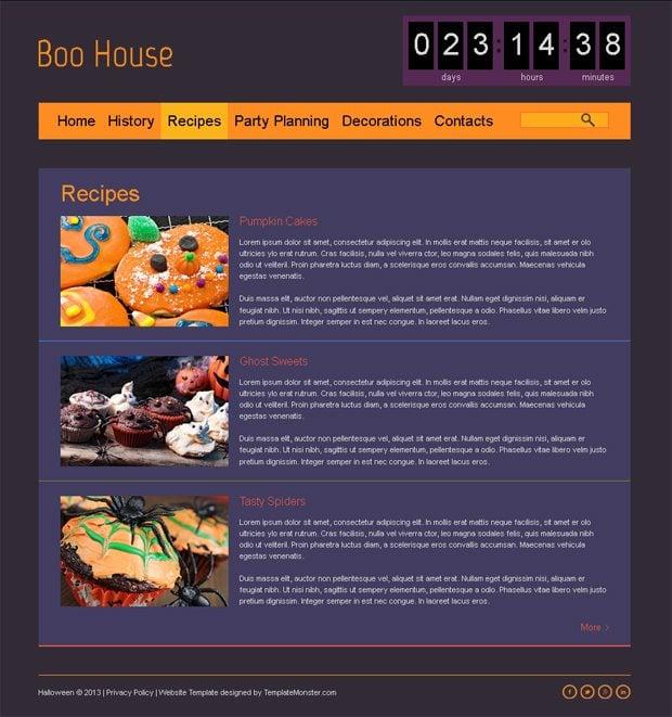 Free Halloween Theme