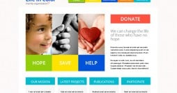 Time for Holiday Charity! Go Ahead with Free Responsive HTML5 Theme