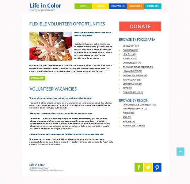 Free Responsive HTML5 Theme