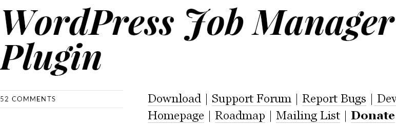 WordPress Job Board Plugins