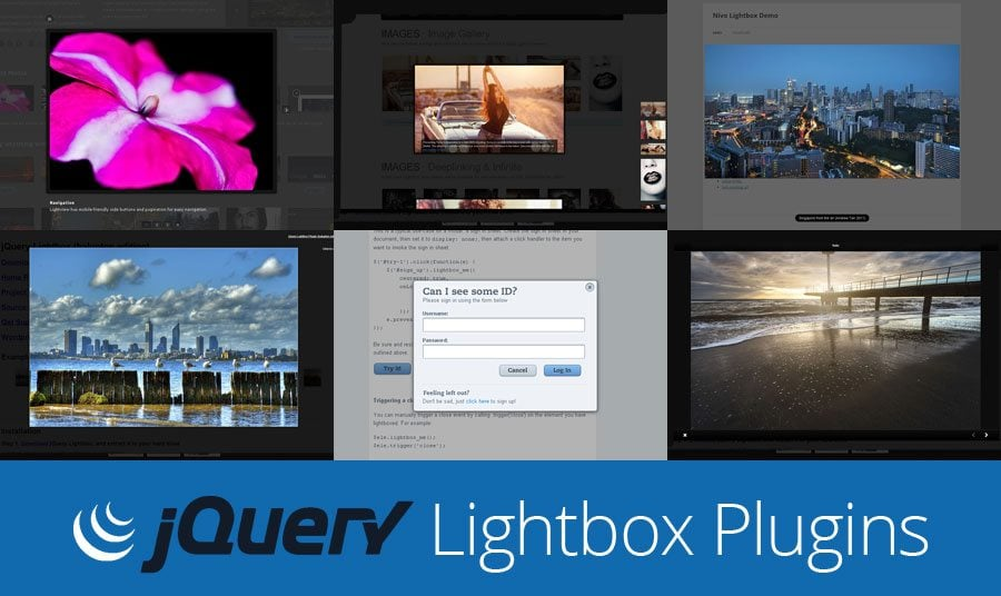 Magnificent Pop-ups: Free jQuery Lightbox Plugins