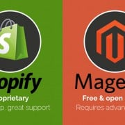 The Clash of Titans: Shopify vs. Magento