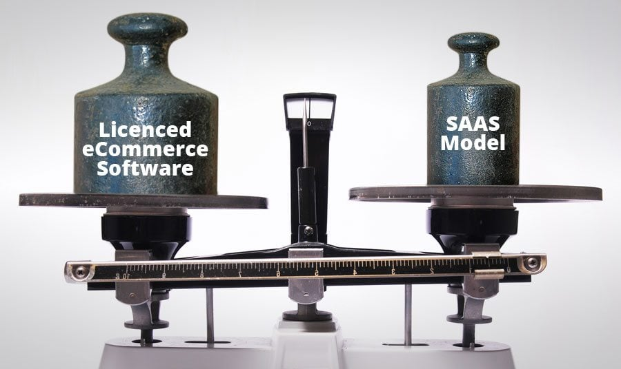 Which One to Choose? SAAS eCommerce VS. Licensed eCommerce Software