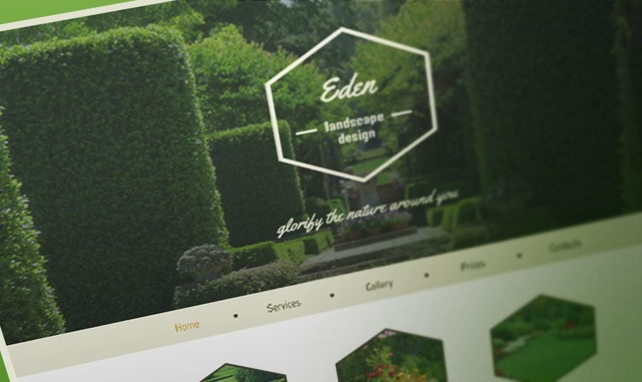 Modern Vintage Twist in Free HTML5 Theme for Exterior Design Website