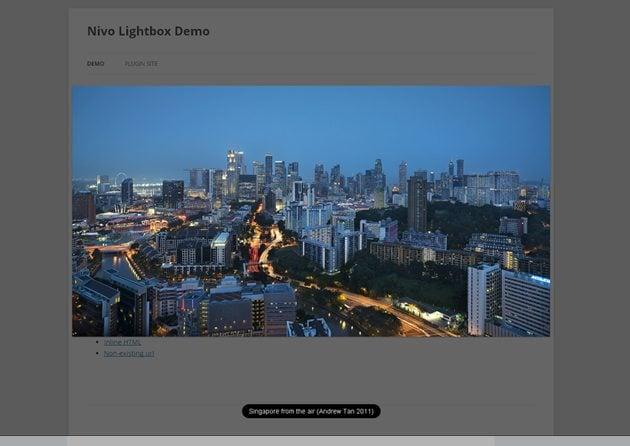 Free jQuery Lightbox Plugins