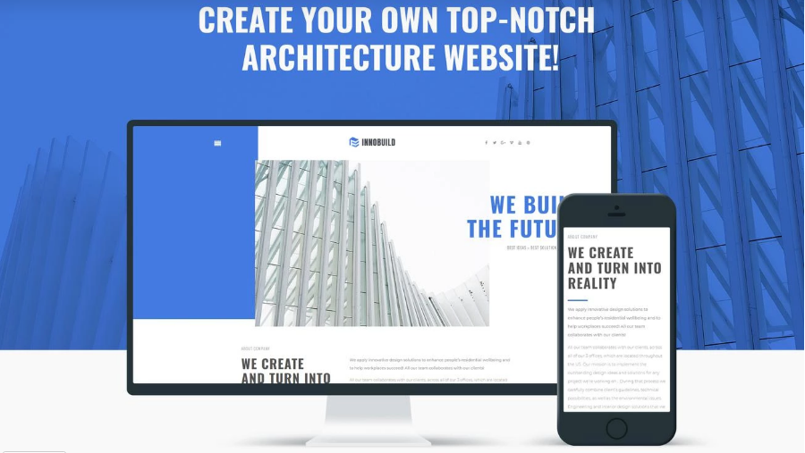 Innobuild - Professional Architecture WP Theme