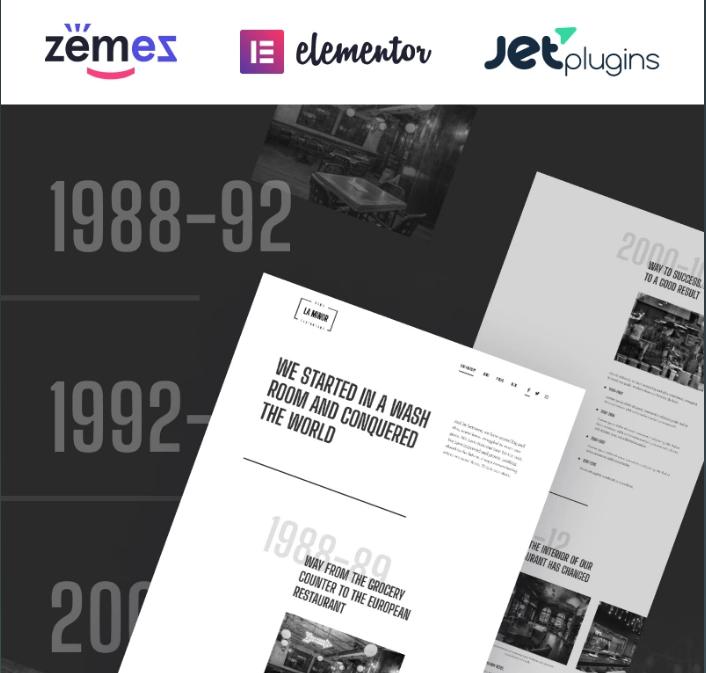 La Minor - Minimalistic Black-and-white Storybrand WordPress Theme