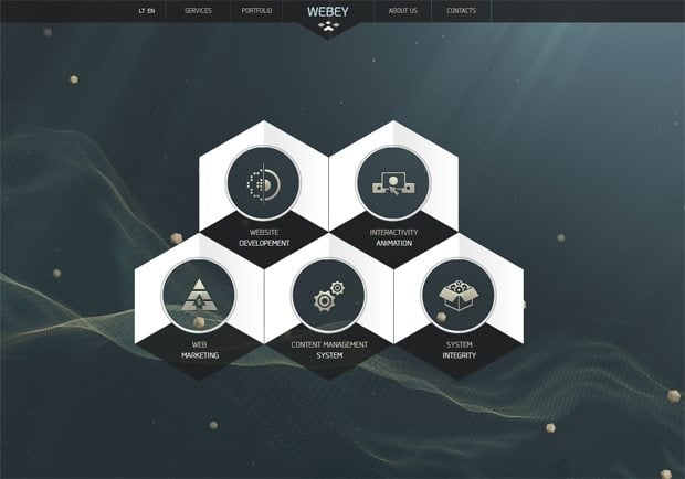 Geometric Web Design