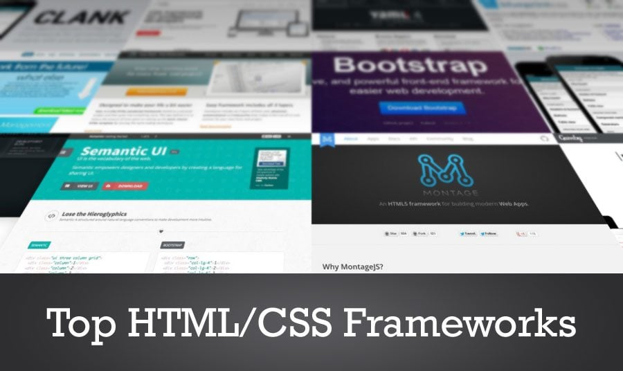 The Top Ten HTML/CSS Frameworks in 2014
