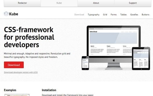 Top HTML CSS Frameworks