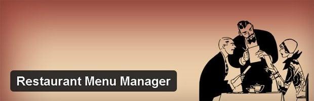 Restaurant Menu Manager