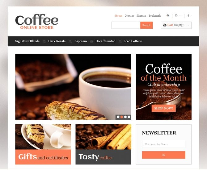 Morning Coffee Website Designs That Will Pick You Up