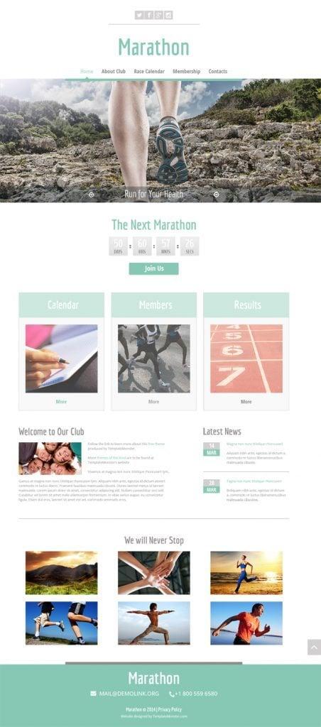 Home Marathon