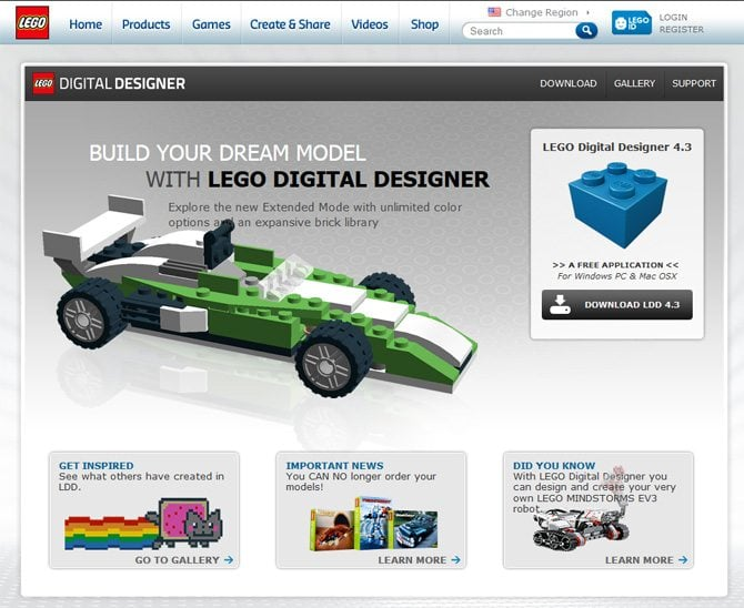 Welcome to the lego world play and develop your for Lego digital designer templates