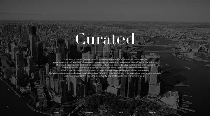 Black & White Web Designs