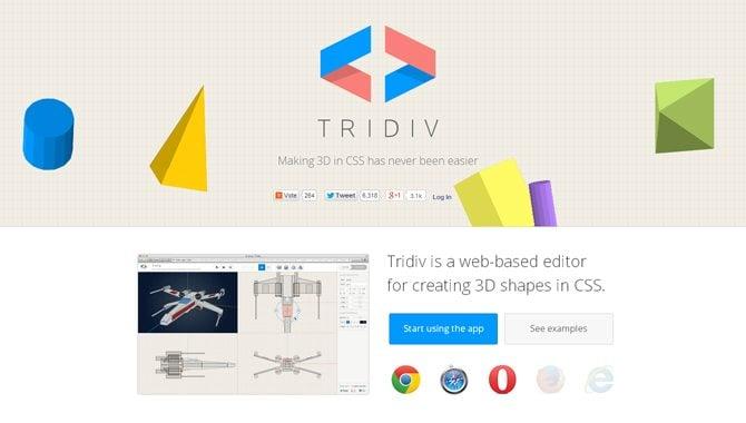 Tridiv