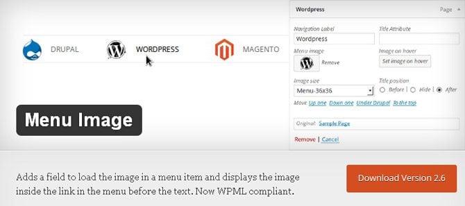wordpress navigation menu plugin