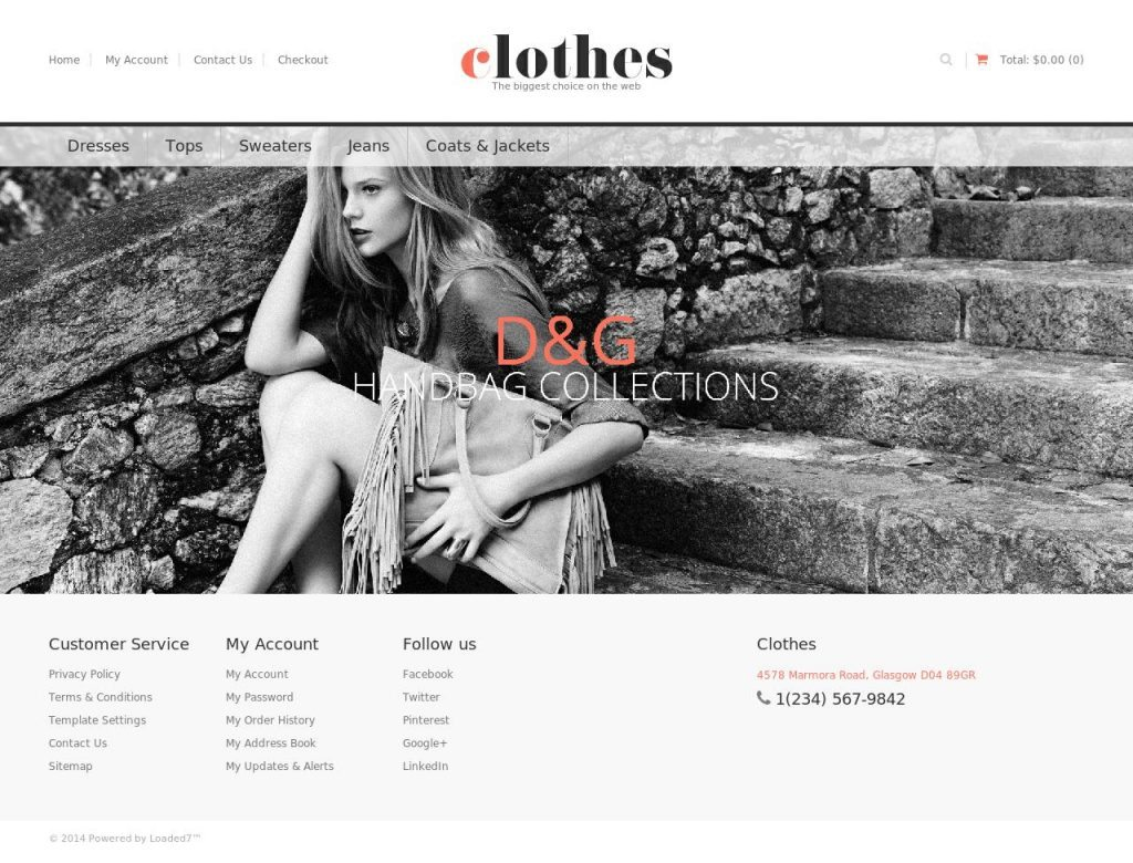 loaded7 website template