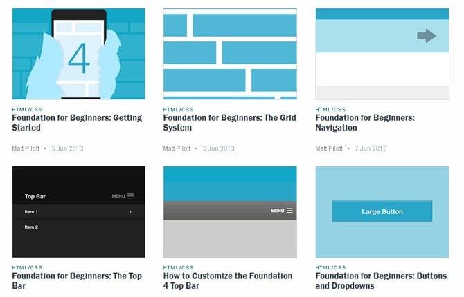 Best Zurb Foundation Tutorials to Whip Up Your Site Development