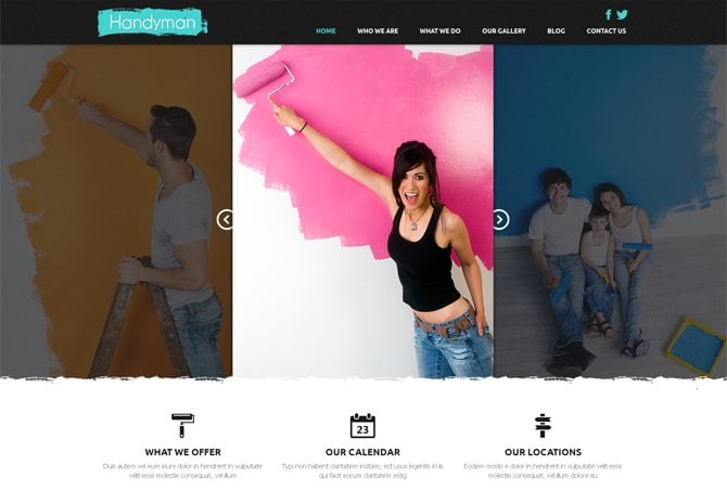 Website Sliders