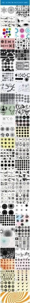 free photoshop geometric shapes