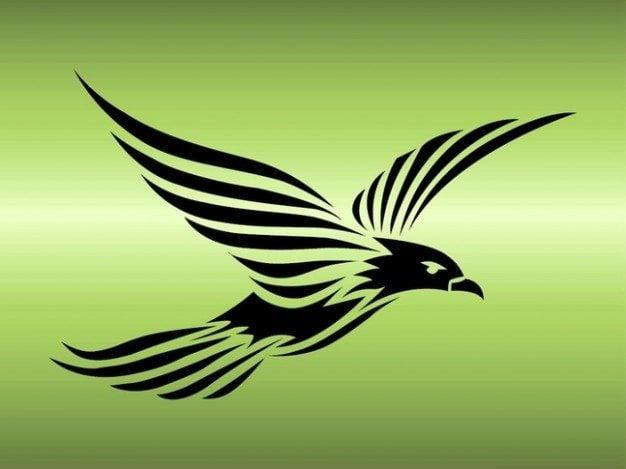 Cool eagle tattoo animal template
