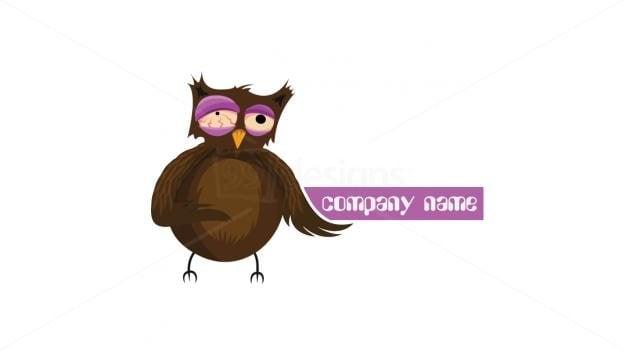 Crazy Animated Owl