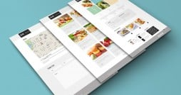 Gustable Freebie. Refined Responsive Theme for Gourmet Place Site