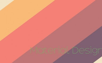 Dribbble Shots: Material Design Inspiration