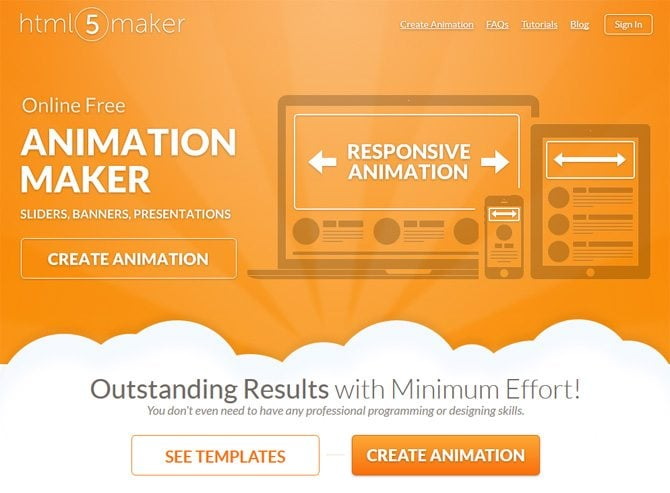 HTML5 animation tools