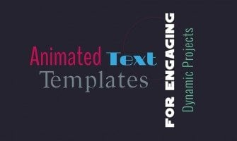 The Art of Motion – Free Kinetic Typography Templates