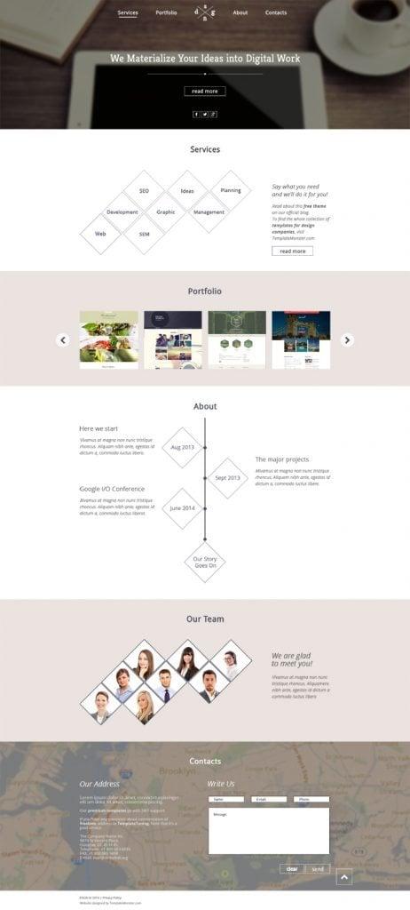DesignOnePage