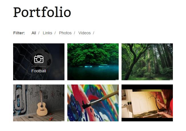 Collection of Free Portfolio & Gallery WordPress Plugins
