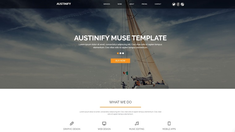 Austinify - Multipurpose Muse Template