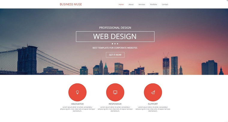 Business Muse Template