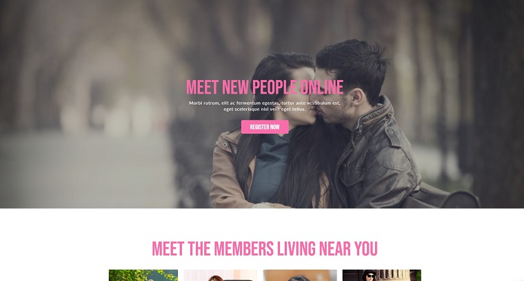 Love Dating Muse Template