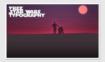 Star Wars Tribute: 15 Free Fonts From The Far, Far Away Galaxy