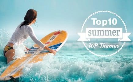 Top 10 WordPress Themes of Summer 2014