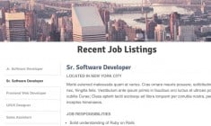 Building a Job Listing Widget Using CSS3 and jQuery