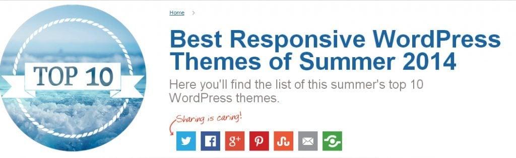 10 Mejores Temas de WordPress de Verano 2014 - Blog de ...
