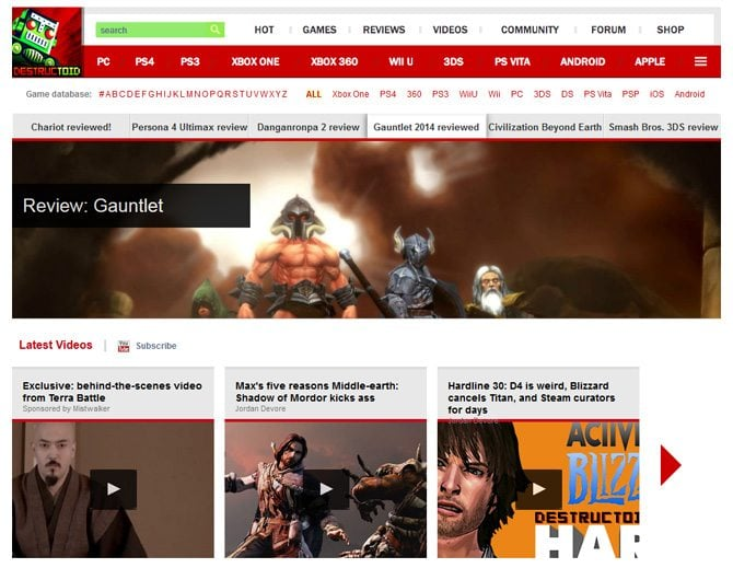 Put off Your Design and Browse the Most Inspiring Gaming Sites – the